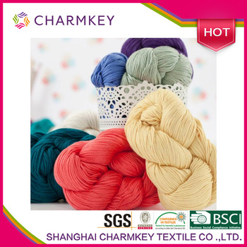 Charmkey knitting and crochet yarn/100 cotton knitting yarn