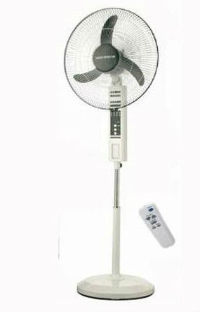 outdoor stand emergency fan (3 wind speed /timer Function with led light cheap price Pakistan/egypt/Nigeria