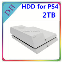 Black or White Cover HDD Case for PS4 HDD// 3.5 Inches Hard Disk 2 TB with Gamebar for Playstation 4 Video Games