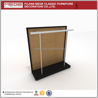 cheap clothing stores tablet floor display stand