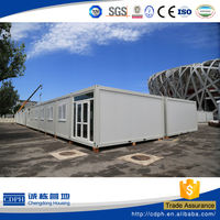 Container house made in China, prefab container homes