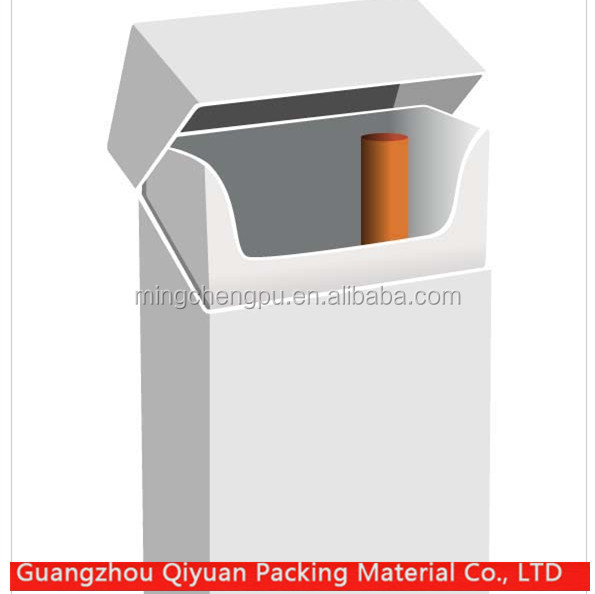 2016 new product blank cigarette packs