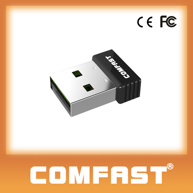 CF-WU712P 802.11n usb wireless lan card RTL8188EUS WPS Button 150mbps internet card for laptop