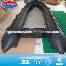 Aluminum floor inflatable speed boat ZB-600