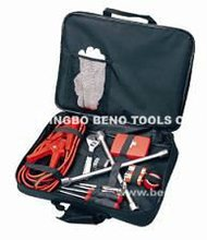 Roadside emergency tool set with 22pcs and portable promotion hand tool sets for auto