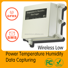 Wireless Low Power Temperature Humidity Data Capturing solar door alarm co2 controller Data Logger