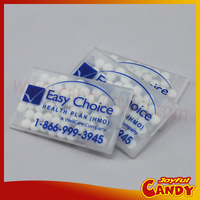 credit plastic card size mints candy