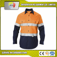 Wholesale Custom Made Safety Hi Vis Work Polo Shirts