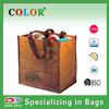 handle with cross-stich 6 bottle pp woven tote wine bag wholesale