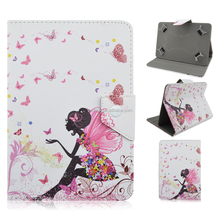 Fashional Magic Girl Folding Printed Leather Case Cover For iPad Mini 4