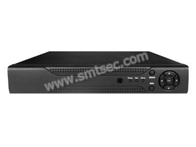 Mobile phone view Support Onvif 2.0 HDMI/VGA output RS485,Audio 1 SATA port,2 USB port, 4CH 720P NVR(NVR-T0420)