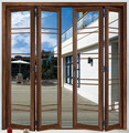 North America Style HB70 series Aluminum Bi-fold Door comply with CE certificate from China factory