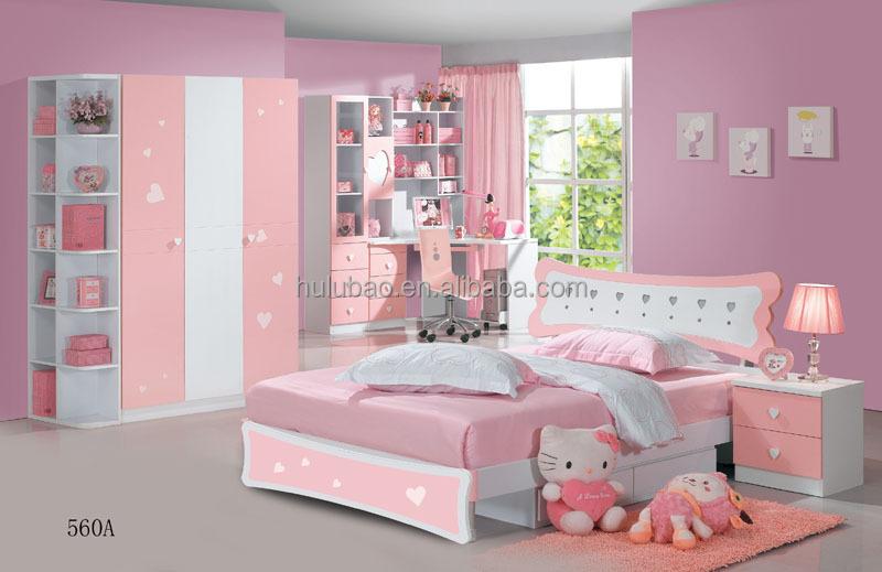 Kids bedroom set for girls kids bedroom furniture children for Childrens bedroom furniture