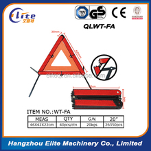Car Emergency Reflective Warning Triangle / LED Flashing Traffic Sign