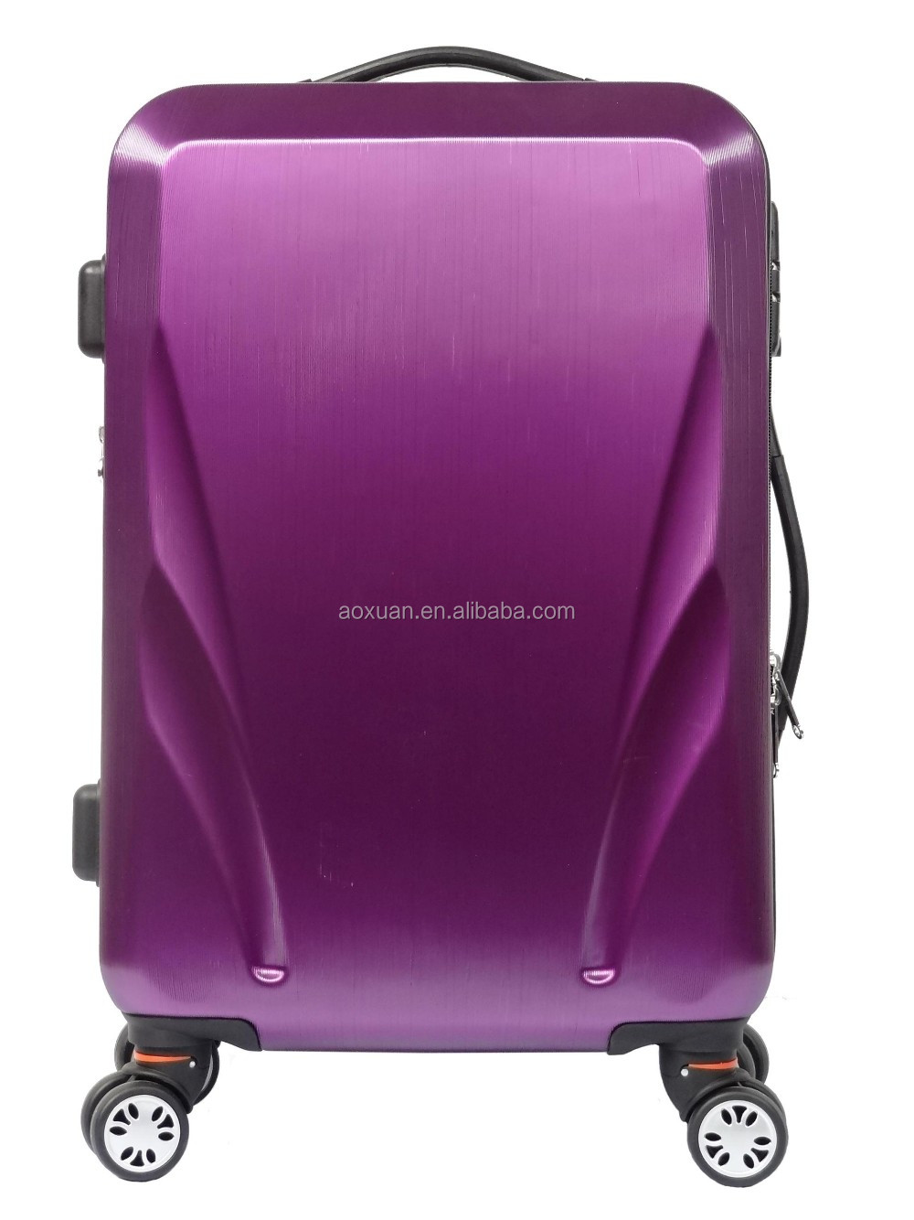 shanghai luggage bag ABS PC trolley luggage bag