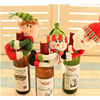 Christmas Decoration Christmas Snowman red wine set bar restaurant bottle cover wine bag