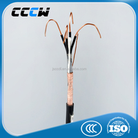 High quality PVC jacking 4 core 10mm pvc cable