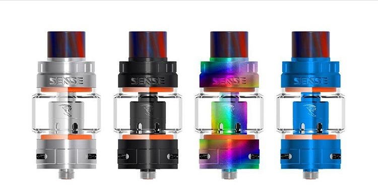 Sense Herakles mesh tank have 2 style bubble glass tube and straight glass tube