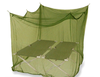 Insecticide treated green army travel mosquito bed net
