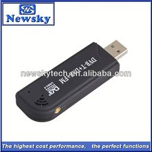 Hot selling SDR+ FM +DVB-T function DVB-T usb tv card for laptop