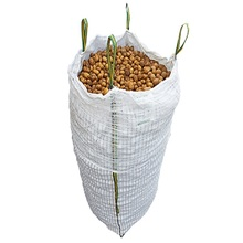 100% vigin pp woven jumbo bag ventilated big bags for potatos 500kg 1000kg