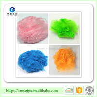 PET flakes recycled polyester staple fiber for spinning purpose