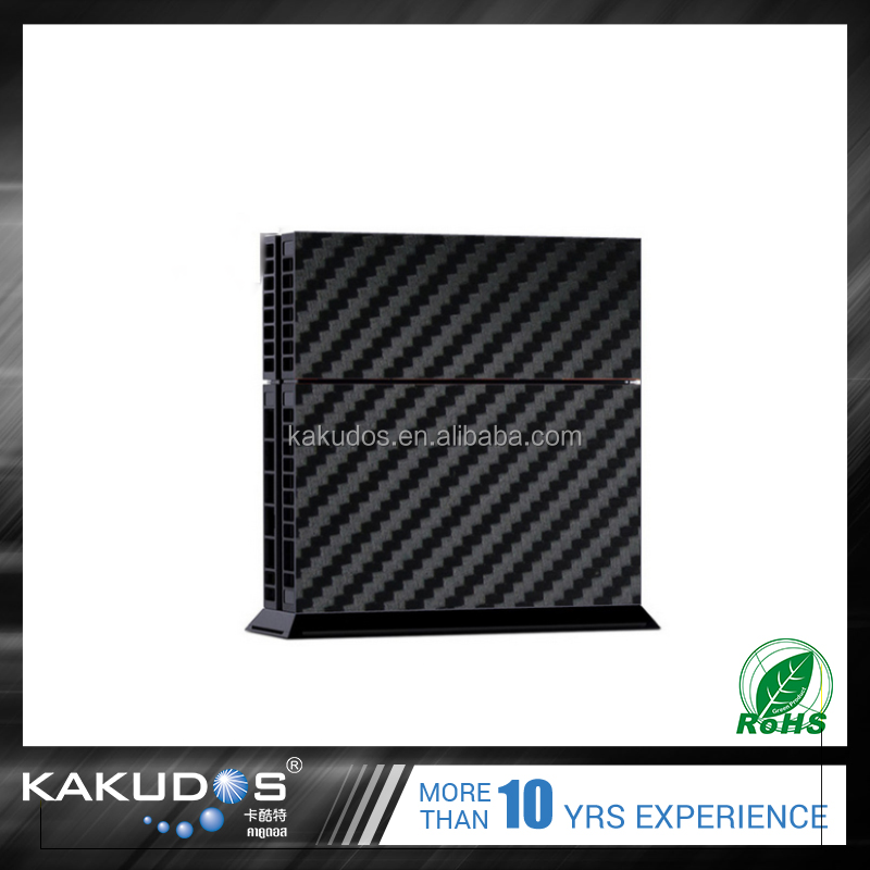 carbon fiber skin sticker for ps4 console & controller