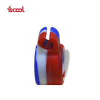 Creative Design Factory Wholesale Silicone Finger Smoking Ring Cigarette Holder
