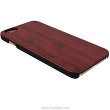 high quality natural Carved Wooden make for iphone case custom cases