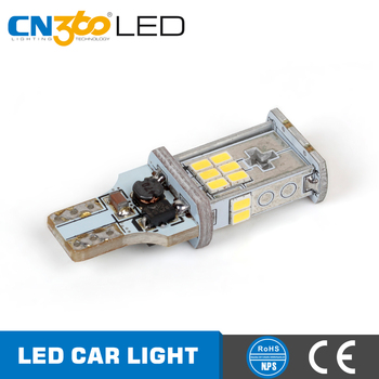 New product SMD3020 superior bright 950lm t15 led reverse light