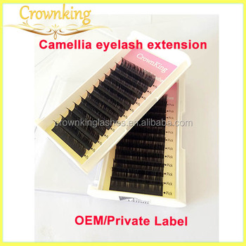 camellia eyelash, mixed length for eyelash, extensions for technician