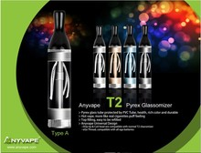 Super Feeling 73.4mm Changeable Mouthpiece and Coil Head T2 Atomizer