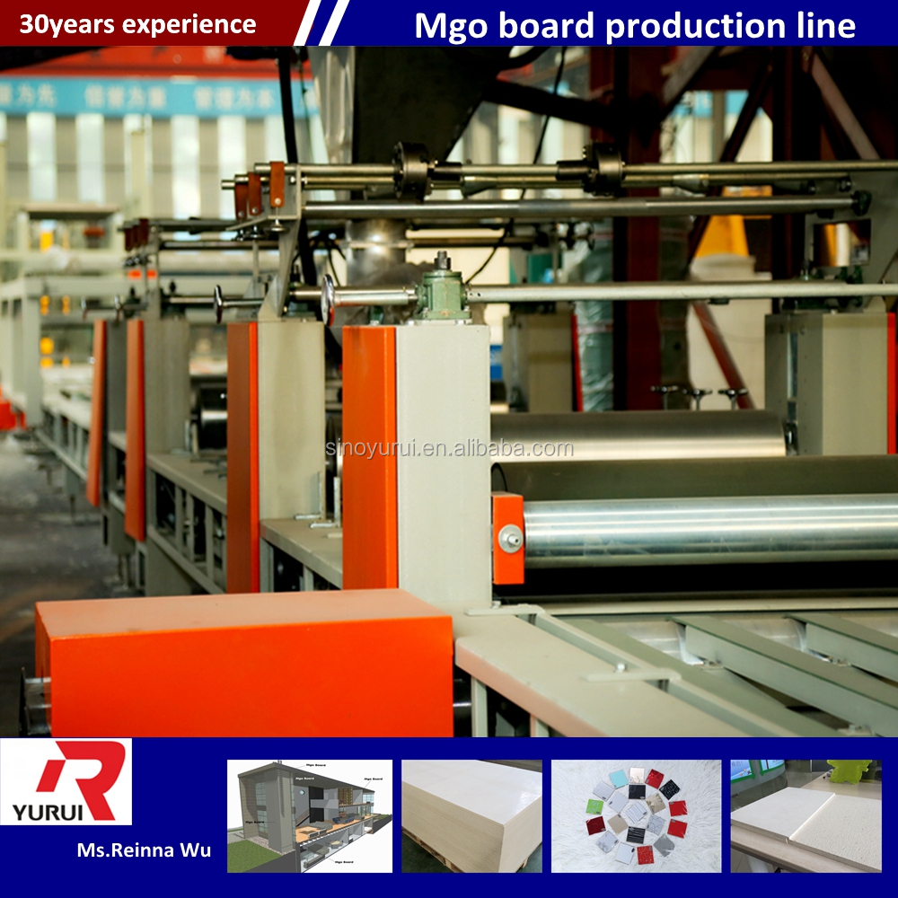 MGO board manufacturing plant wall panel making machine equipment for United Kingdom market