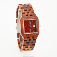 Brand your own ladies watches,lastest wooden fashion wrist watches for girls