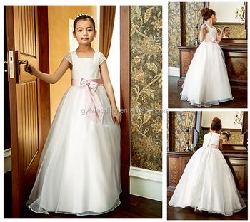 Guangzhou factory elegant dresses for girls wedding formal for Guangzhou wedding dress market