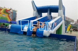Dolphin Water Slide inflatable water slide adult inflatable stair slide toys giant inflatable slide for sale
