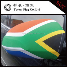 Clear Plastic Car Covers , Logo Design Car Mirror Flag , South Africa Car Mirror Flag