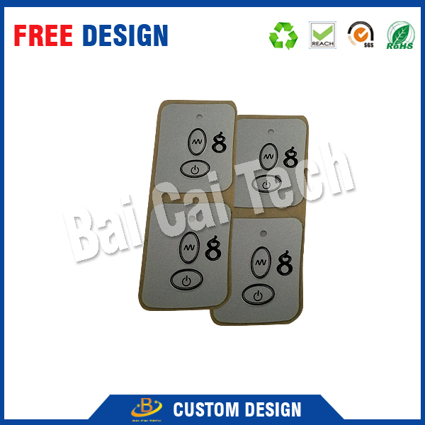 Professional manufacture custom waterproof membrane switch