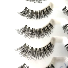 Cheap Price Wholesale Lashes 5 Pairs Synthetic Hair Premium Silk False Eyelash