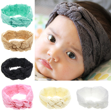 High Quality Eco-friendly Korean Style Infant Baby Lace Headband