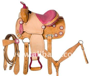 pony Show Western Saddle
