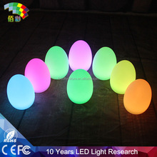 Egg shaped remote control outdoor led flood lights