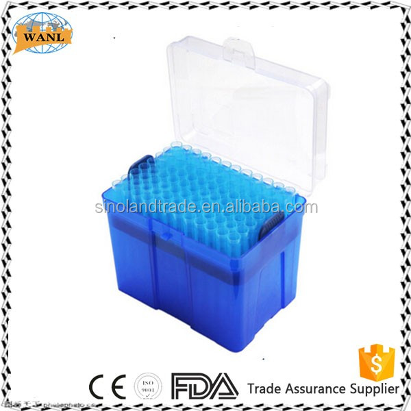 Medical Consumables Laboratory Disposable 200ul Yellow Filter Pipette Tips