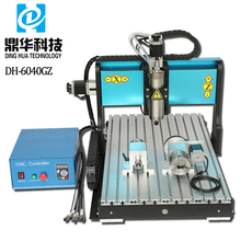 DH-6040GZ china 5 axis small portable tabletop cnc lathe router engraving milling machine