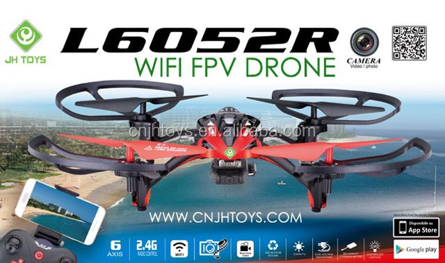 L6052R 2.4G Drone WIFI FPV Iphone And Android Wifi Control Quadcopter