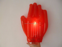 PVC Inflatable Hand with LED flash light