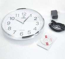 Wall clock camera + Wifi Round Clock Camera Digital Video Recorder Table Home security clock radio hidden camera