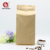 custom wholesale stand up zipper pouch biodegradable kraft paper coffee packaging bags with valve