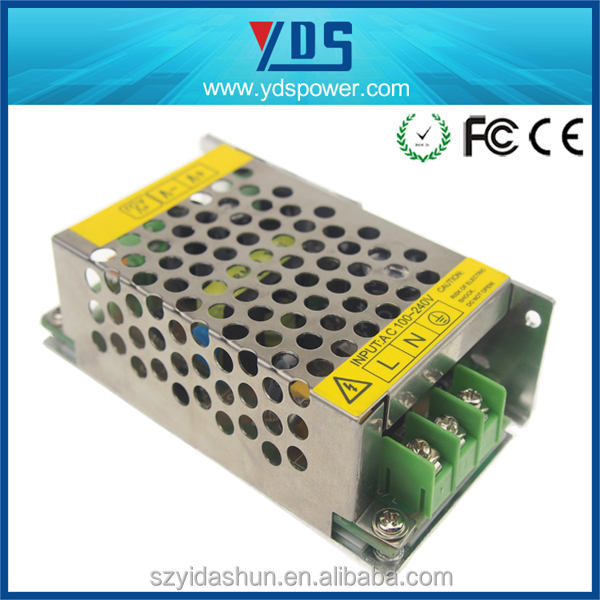 2016 Hot selling 220v ac to 5v dc Customized 15w High Quality Supply 12V 2A 3A 5A 10A 15A 20A 30A Switching Power Suply 12V 5V
