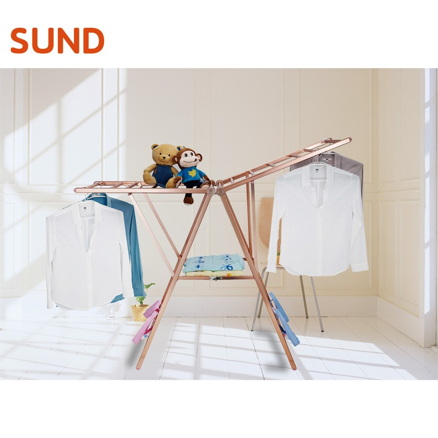 Outdoor Hanging Foldable Clothes Drying Rack, Clothes Hanging Rod